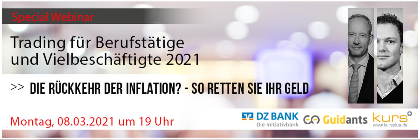 Geldentwertung 2021